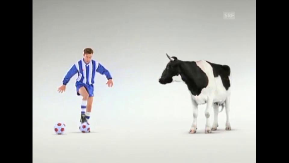 Milch Schweizer Milchproduzenten - Fussballer (1993)