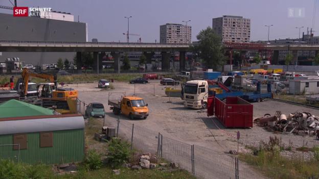 Video «Fahrende bekommen in Zürich Gastrecht» abspielen