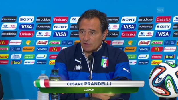 Video «Vorschau Uruguay - Italien» abspielen