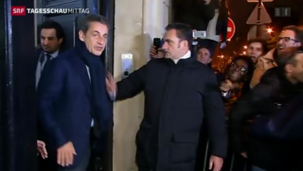 Video «UMP wählt Nicolas Sarkozy zum Parteichef» abspielen