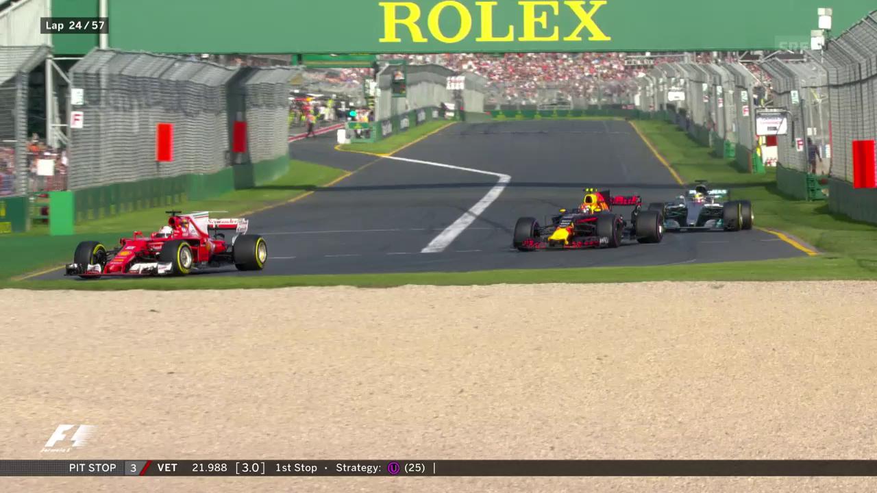 Vettel überholt – Wolff tobt
