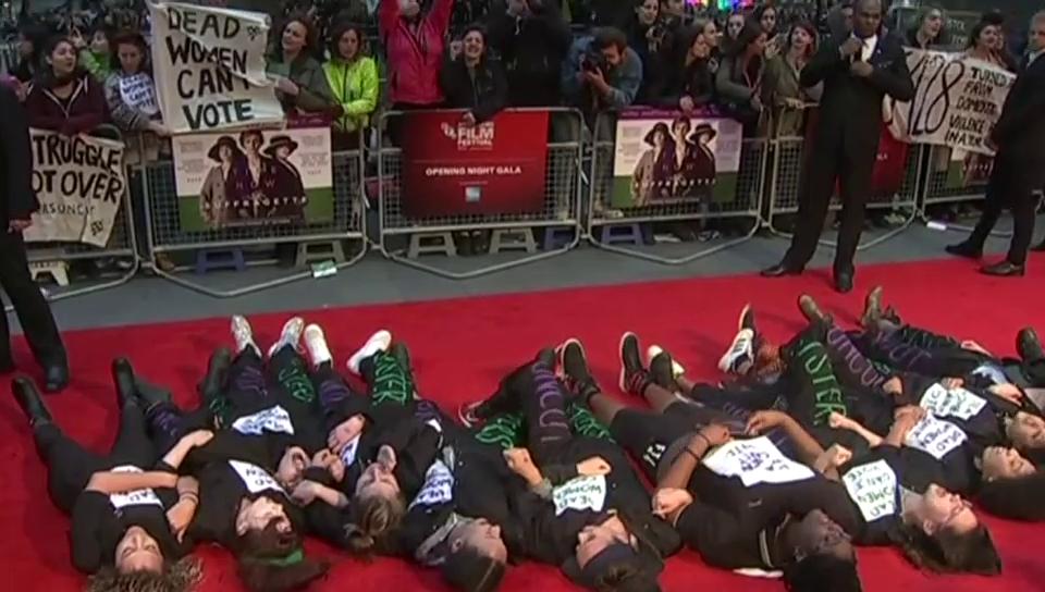 Proteste bei Filmpremiere von Meryl Streep