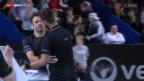 Video «Wawrinka scheitert in Marseille im Viertelfinal» abspielen