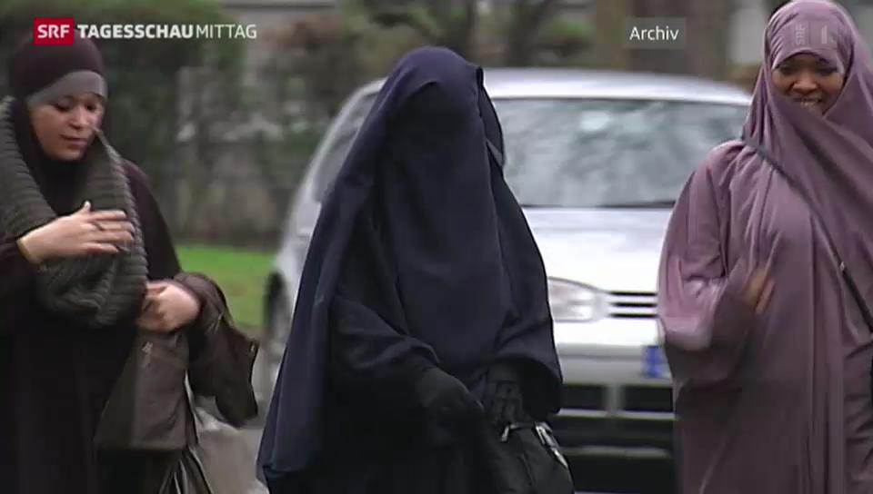 Burkas bleiben in Frankreich verboten