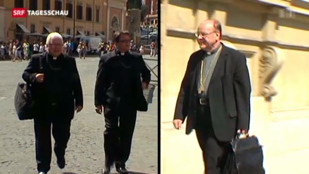 Video «Bischöfe wegen Pfarrei-Initiative in Rom» abspielen