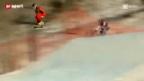 Video «Skicross: Zweiter Saisonsieg für Fanny Smith» abspielen