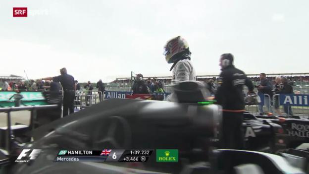 Video «F1: Zusammenfassung Qualifying» abspielen