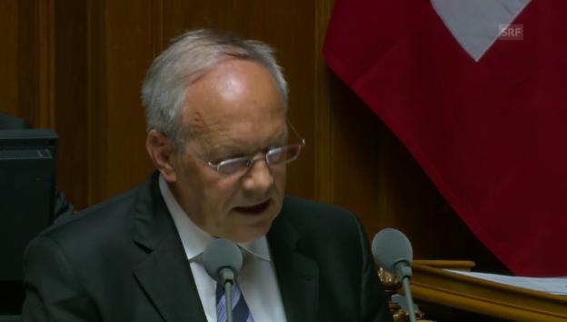 Video «Facebook-Frage im Parlament» abspielen