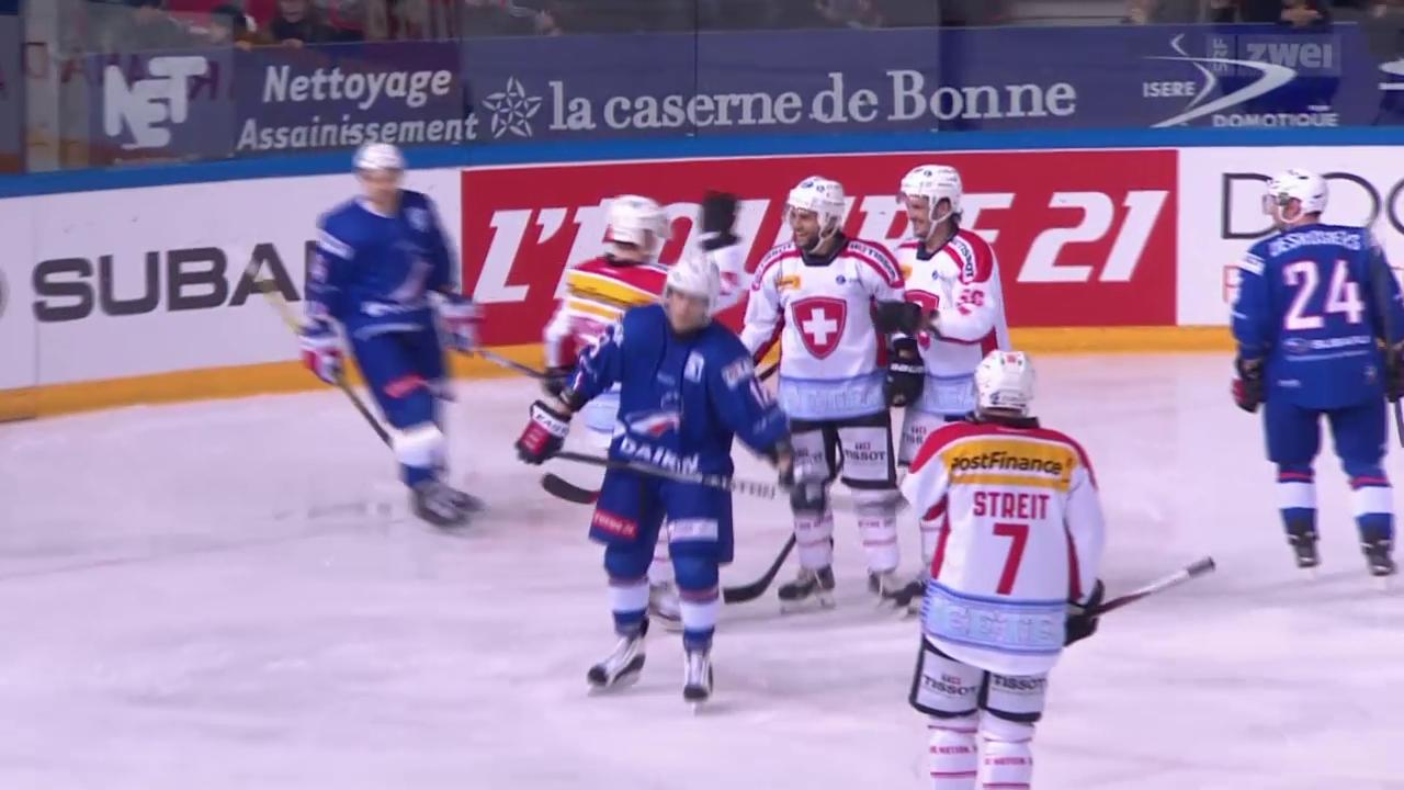 Eishockey: Testländerspiel, Schweiz - Frankreich