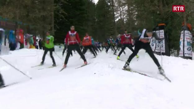 Laschar ir video «Quai è stà il 50avel Maraton da skis engiadinais»