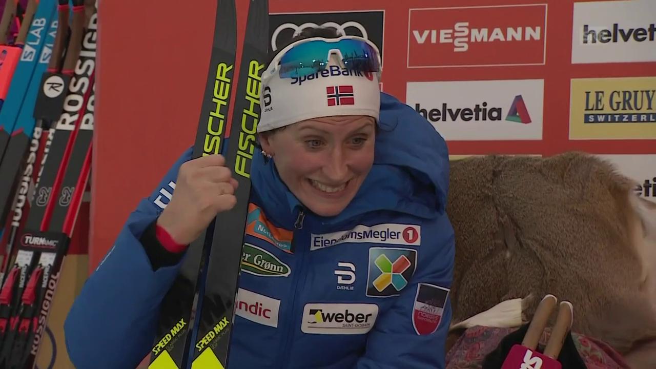 Björgen dank starkem Schlussbouquet zum Sieg