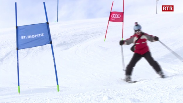 Laschar ir video «Champ da skis per giuvens a Puntraschigna cun Sandro Viletta»