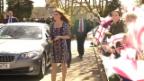 Video «Popstar-Empfang für Herzogin Catherine» abspielen