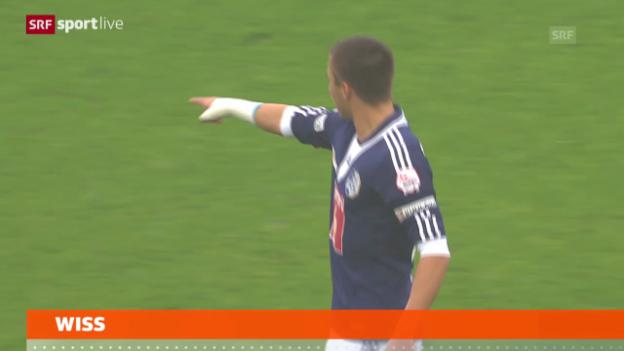 Video «Fussball: Luzerns Alain Wiss fällt aus» abspielen