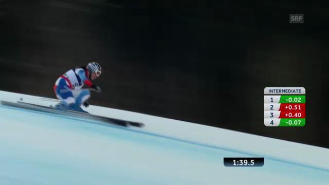 Ski-WM: Super Kmobi Frauen, Abfahrt von Dominique Gisin