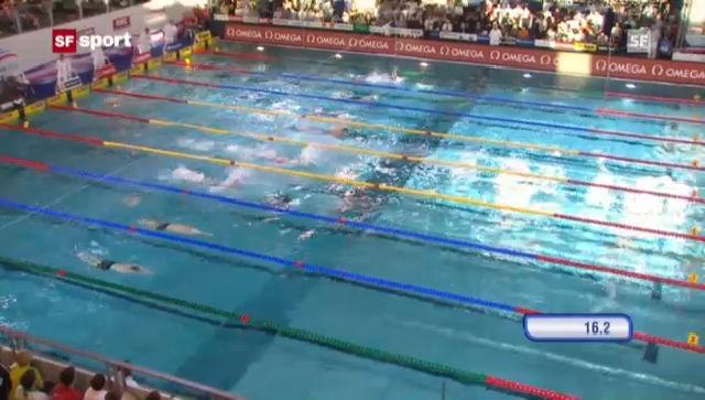 Schwimmen: Letzter Tag an der Kurzbahn-EM