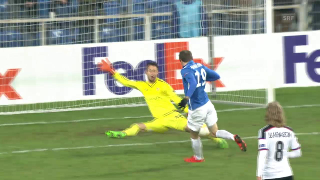 Fussball: FCB-Salvi verhindert den Ausgleich