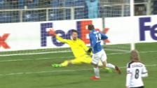 Video «Fussball: FCB-Salvi verhindert den Ausgleich» abspielen