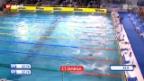 Video «Lang EM-Achter über 50 m Rücken» abspielen