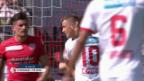 Video «Sion holt «Big Points» gegen Thun» abspielen