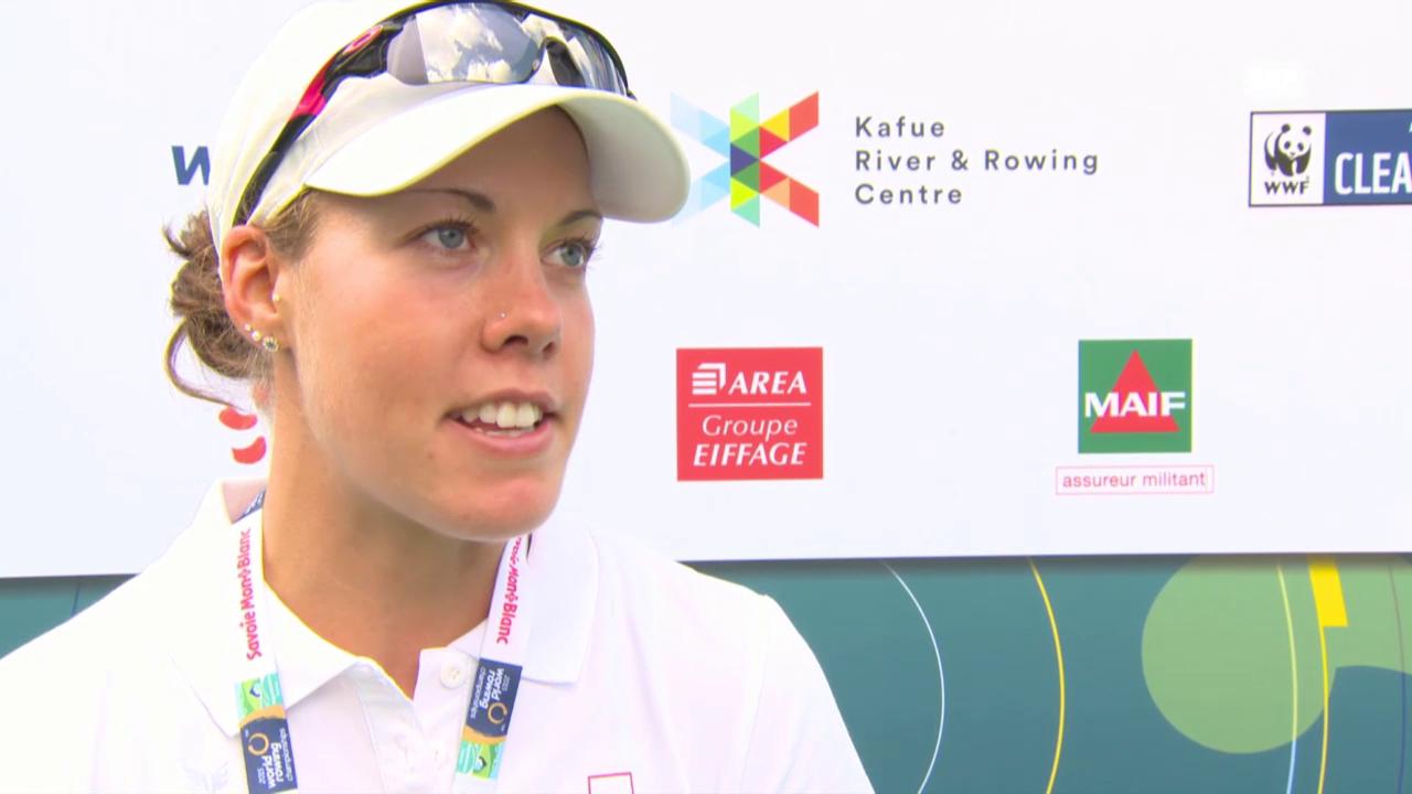 Rudern, Skiff: Jeannine Gmelin zu ihrem WM-Lauf