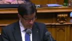 Video «Bruno Pezzatti (FDP/ZG): «Wichtiges Wettbewerbselement»» abspielen