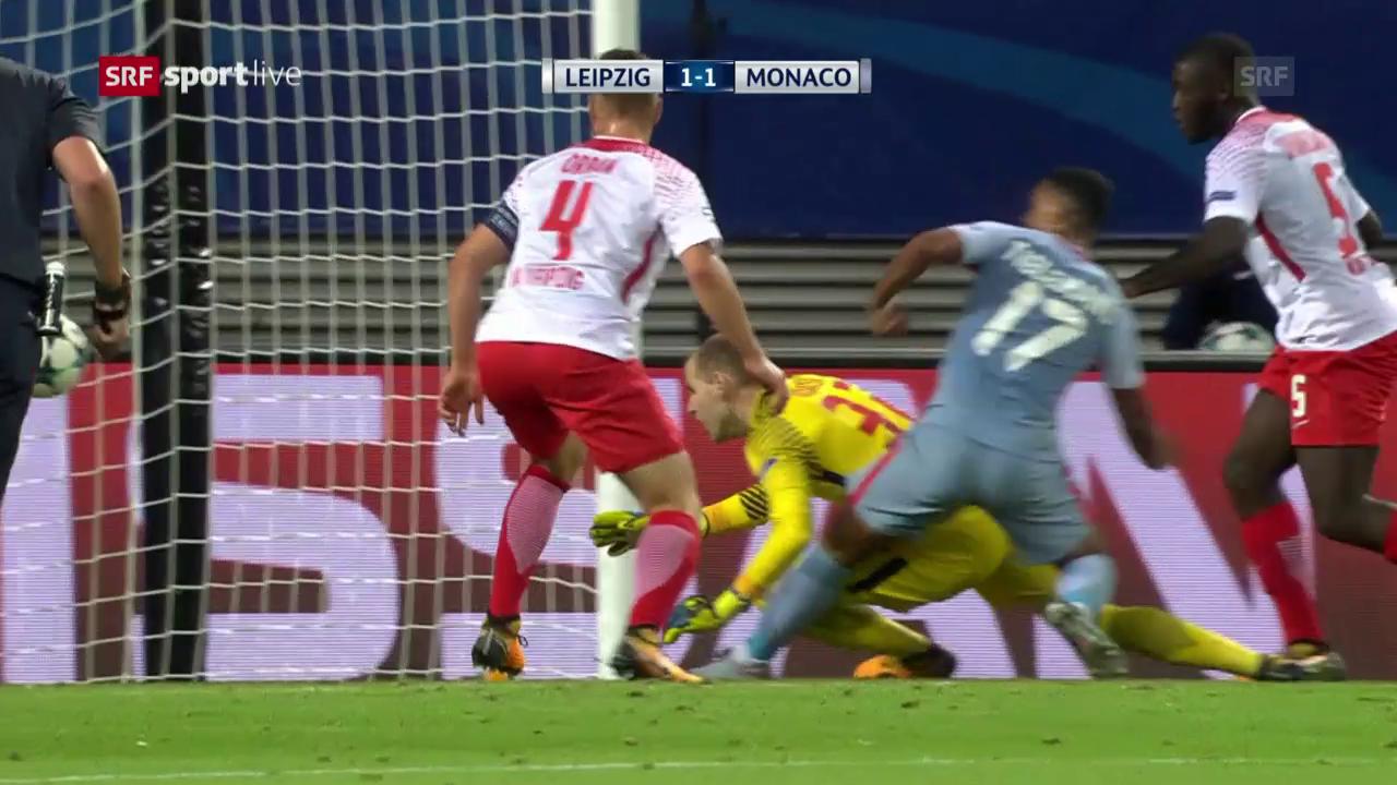 Leipzig und Monaco teilen sich die Punkte
