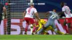 Video «Leipzig und Monaco teilen sich die Punkte» abspielen