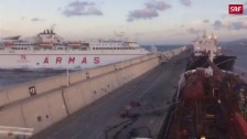 Link öffnet eine Lightbox. Video Fährenunglück auf Gran Canaria abspielen