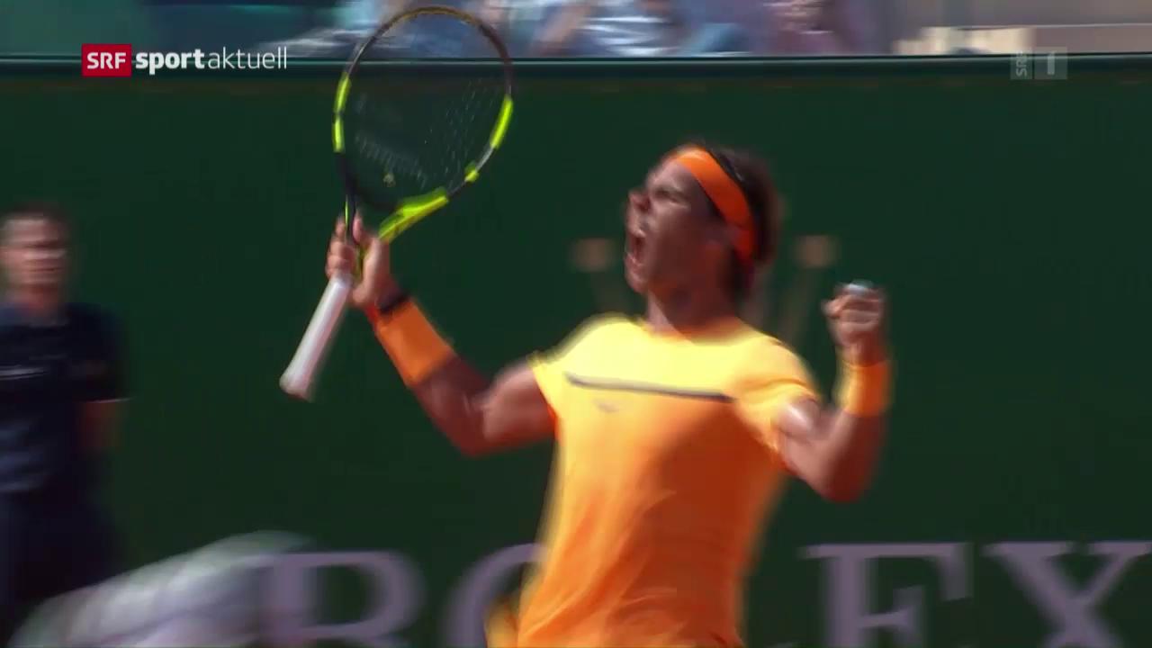 Nadal zieht in Monte-Carlo in den Final ein