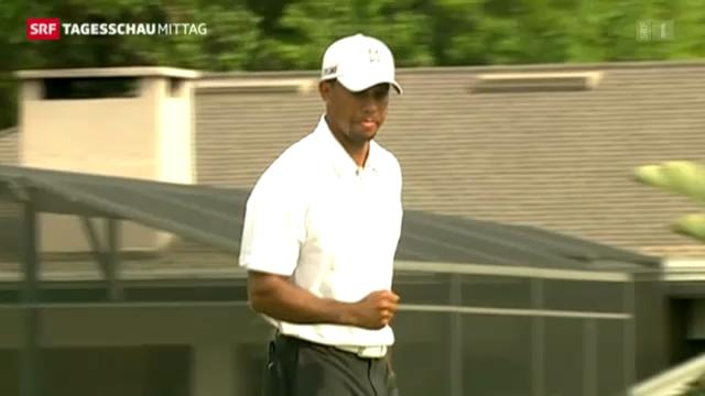 Tiger Woods zurück an der Spitze