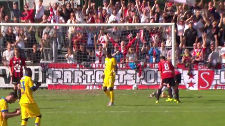 Video «Fussball : Schweizer Cup, Münsingen – Sion, 2:0 Sion» abspielen
