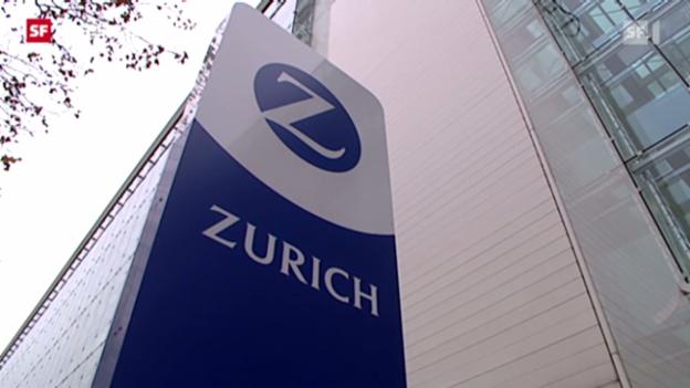 Video «Zürich Versicherung erleidet Gewinneinbruch» abspielen