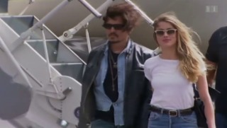 Video «Johnny Depps Hunde sorgen für Gerichtsfall» abspielen