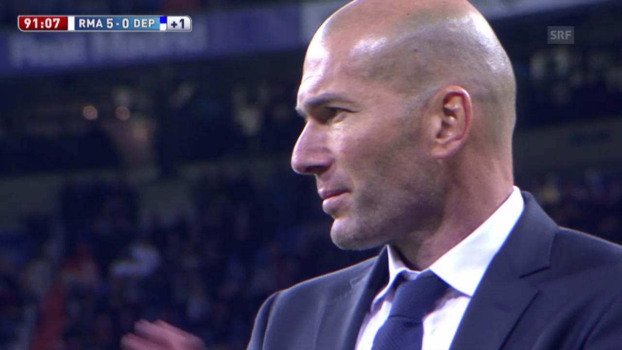 Traum-Debüt für Neo-Coach Zidane bei Real