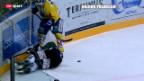 Video «Hockeyunfall – wie das Unfallrisiko vermindert werden soll» abspielen