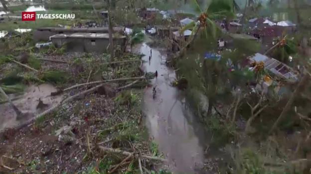 Video «Zerstörung durch Hurrican «Matthew»» abspielen