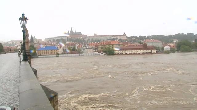Prag unter Wasser