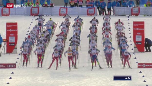 Video «Skicross und Langlauf: Weltcups in Idre bzw. Falun» abspielen
