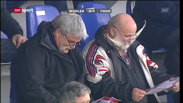 Fussball: Wohlen - Thun («sportpanorama»)