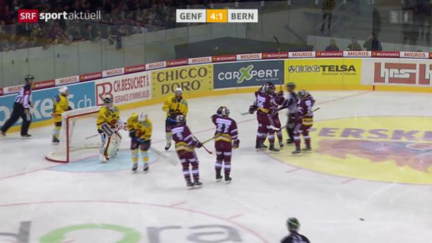 Video «Eishockey: NLA, 11. Runde, Genf - Bern» abspielen