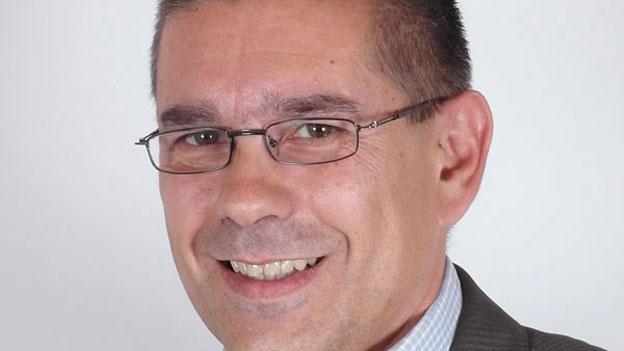 Markus Schneider zum Resultat im 1. Wahlgang (Stefan Ulrich, 13.1.2013)