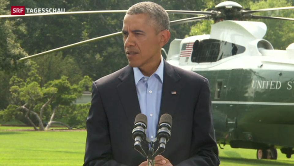 USA gehen weiter gegen die IS vor
