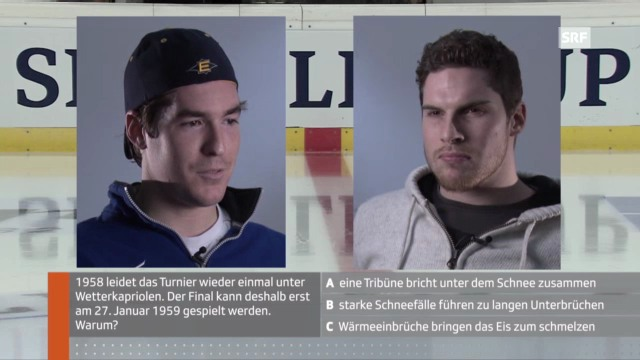 Spengler Cup: Bürgler und Schilt im Quiz