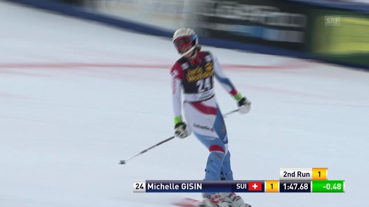 Ski Alpin: Slalom Aspen, 2. Lauf Michelle Gisin