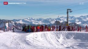 Video «Schneemangel bedrängt Tourismusbranche» abspielen