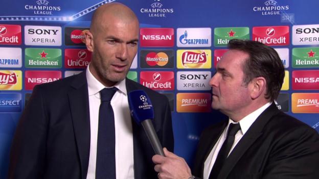 Video «Zidane: «Der Sieg hat mich nicht überrascht»» abspielen