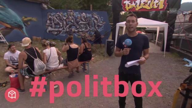 Video «politbox on tour #5: Live-Sendung aus Grüsch (GR)» abspielen