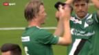 Video «Fussball: FC Sion - St. Gallen» abspielen