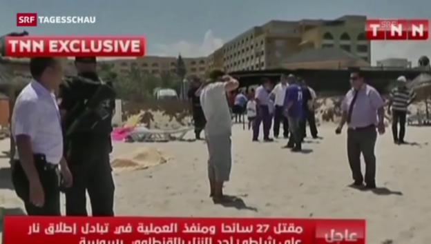 Video «Anschlag in Sousse und Reaktionen (Tagesschau 19.30 Uhr)» abspielen